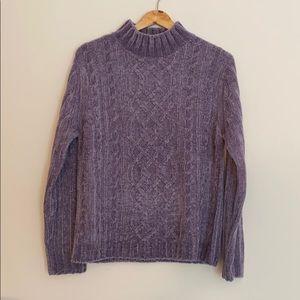 croft & barrow Mock Turtleneck Sweater
